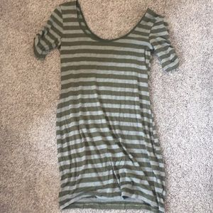 Striped dress medium